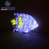 Factory Outlet Purple Color LED Sea Fish Light