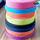 Red/Orange/Yellow/Green/Blue/Purple/Black Braided Woven Cotton Polyester Webbing