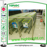 Euro Style Shopping Trolley 150L
