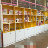 Modern Wooden Melamine Bookcase with Doors (or Not) Design