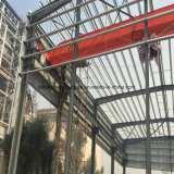 1000 Square Meters Stable Steel Structure Fabrication Workshop with Crane