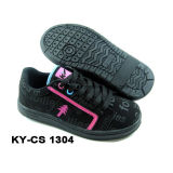 Newest Children's Sport Casual Skateboarding Shoes with PU Upper and Rb Sole