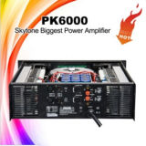 Professional Pk6000 1800watts High Audio Power Amplifier