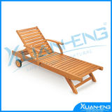 All-Weather Hardwood Arm Chair for Home Patio Beach Condo