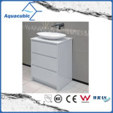 Floor Mount Vanity in White Finish with 3 Drawers (ACF8889)