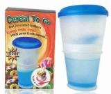 Cereal Bowl, Cool Bowl with Freezer, Cereal to Go (TV205)