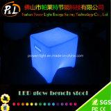 Glowing Furniture Illuminated LED Bench Stool