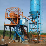 Wet Mix Concrete Batching Plant with Self Material Weighing System (Hzs60)