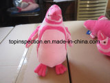 Toys and Gifts (Plush toy, Plastic toy, Ball, Puppet) Production Inspection