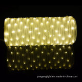 Waterproof 10m136LED Warm White Tube String Light for Home/Holiday/Christmas Decoration