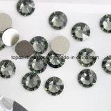 Best 2088 Cutting Black Diamond Non Hotfix Glass Rhinestone Flat Back Rhinestone (FB-13)