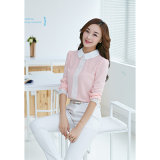 Casual Long Sleeve Chiffon Women Blouse Leisurely Shirt New