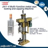 Multi-Function Metal Caps Locking and Capping Machine for Cosmetics (JIAY-4)