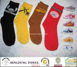 Brand Promotion Product: 100% Cotton Compressed Promotional Sock