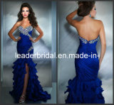 Sweetheart Strapless Prom Dress Mermaid Chiffon Evening Formal Gown E14631