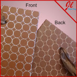 Embossed Dots Euro Totes Solid Kraft Bags