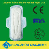 280mm Maxi Sanitary Pad with Wings for Night Use
