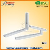 Foldable Microwave Oven Wall Mount Bracket Adjustable in Depth for 305-450mm