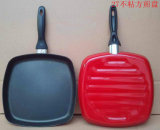 27cm Square Enamel Shallow Frying Pan (LFXC5241)