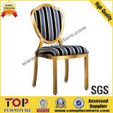 Hotel Luxury Restaurant Metal Dining Chair