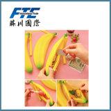 Waterproof Banana Shape Portable Mini Coin Purse Plush Card Pack