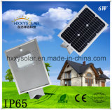 Energy Saving All in One Integrated LED Solar Street Light 6W