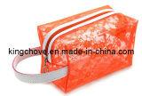 Fashion Orange Mesh Cosmetic Bag (KCC90)