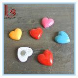 Wholesale Customized Resin Handicraft Zakka Furnishing Articles Heart Fridge Magnet