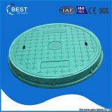En124 A15 Waterproof Customized Green BMC Seal Manhole Cover Guards