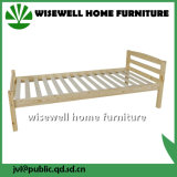 Pine Wood Single Bed Frame Furniture for Adult (WJZ-B19)
