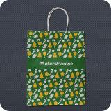Fashion Colorful Custom Printed Paper Shopping Bag