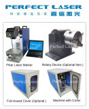 10W 20W 30W 50W 100W Fiber Laser Marking Machine for Metal and Nonmetal (PEDB-400)