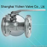 1PC Lever Handle Flanged Ball Valve (1Q41F)