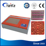 Small 40W CO2 Laser Stamp Engraving Machine for Rubber Stamp
