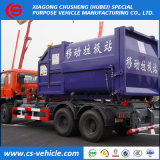 HOWO/Dongfeng 6X4 10tons 20tons Hook Lift Garbage Truck for Sale