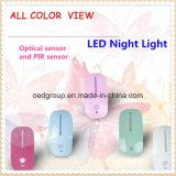 LED Night Light, Optical Sensor and Infrared Sensor Lighting