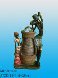 Garden Polyresin Fountain (SMYX7836)