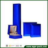 Promotional Blue Plastic LED Jewellery Box