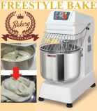 8~100kg Double Speed Spiral Dough Mixer For Flour or Food with Timer (MF-20L8)