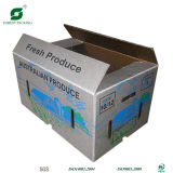 Wax Dipped Corrugated Cardboard Box for Vegetable Packaging