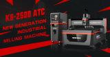 Sdk K6-2500 Atc Heavy Duty CNC Cutting Machine/ CNC Router/CNC Engraving Machine Processing Aluminum Copper MDF Acrylic