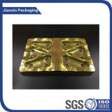 Gold Plastic Cookies Food Tray
