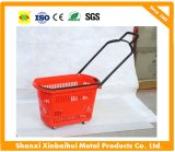 Plastic Supermarket Basket Shopping Basket