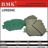 High Quality Ceramic Brake Pads (D2242) for Toyota