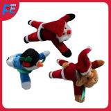 Wholesale Promotional Plush Animal Toy with Santa Design and Deer Design