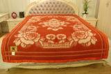 100% Tibet-Sheep Wool Blankets/ Jacquard Blankets/ Wool Blankets
