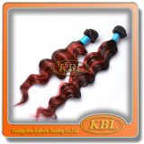Good Selling Brazilian Highlight Color Remy Hair Weft