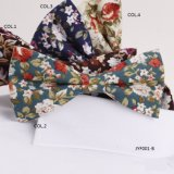 Cotton Printed Floral Bow Ties Jyf001-B
