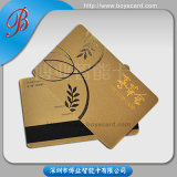 Frosted Business Membership VIP Card with Gold Hotstamp