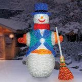 LED Christmas Light Snowman Decoration Light
